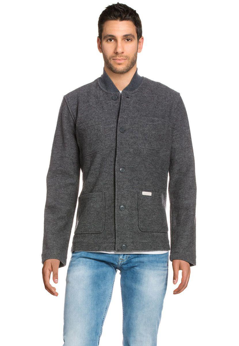 ea1133f64f40 Pepe Jeans Jacke Tailor, Wolle, Stehkragen, gerader Schnitt grau Jetzt  bestellen unter