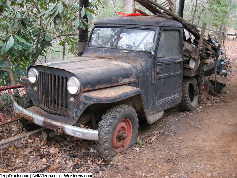 Jeep Trucks For Sale And Jeep Truck Parts 1948 Willys 4wd Stake