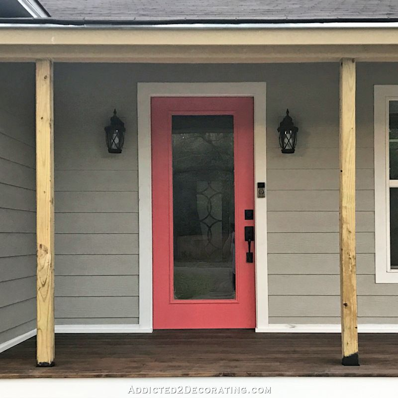 Finished Front Porch Columns (And A Few New Photos Of The
