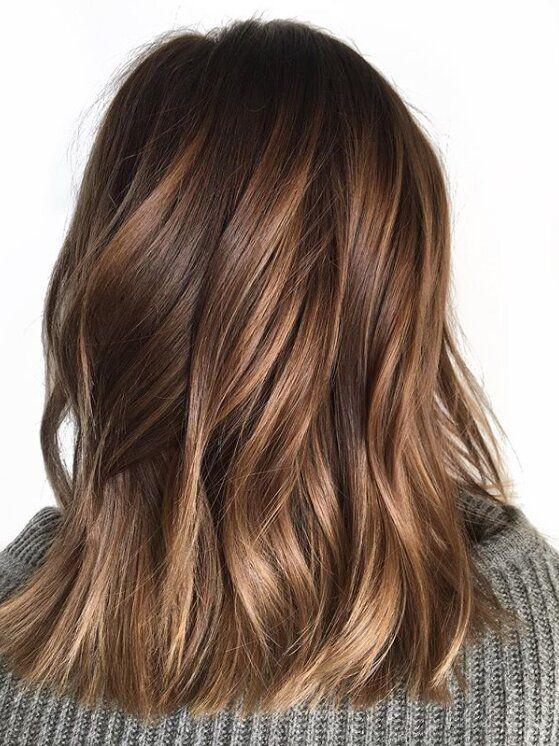 18 hair Brunette honey ideas
