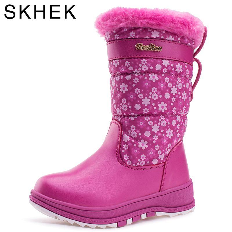 c0eb0bb2e98 Zapatos De Invierno · Encontrar Más Botas Información acerca de Skhek  nuevos niños Botas Abrigos de plumas paño Telas niños
