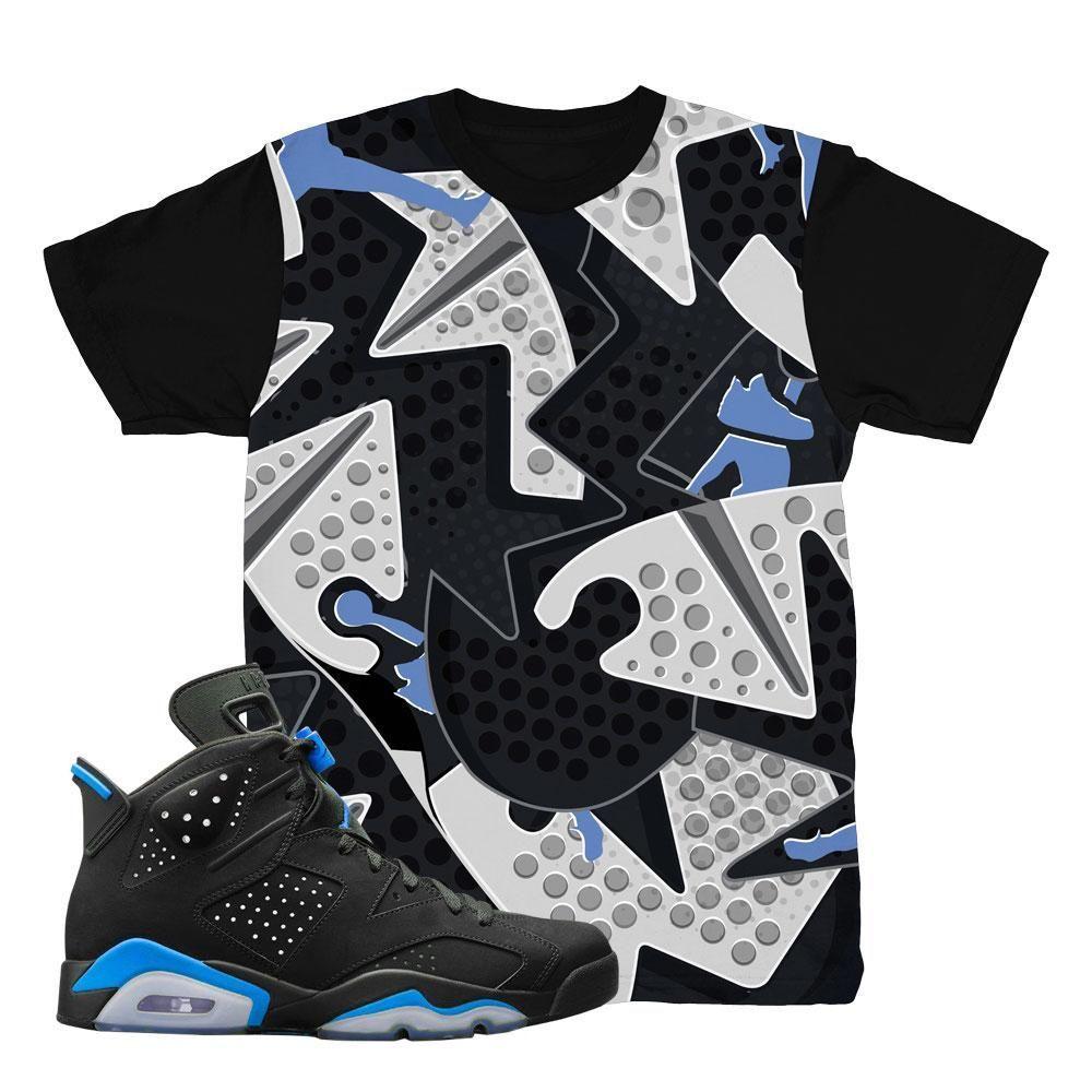 watch f768b 373a3 jordan 6 unc shirts match retro 6 carolina blue tees