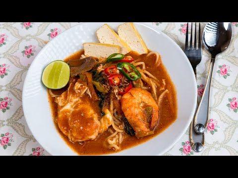 Mee Bandung Muar Special Kuah Pekat Dengan Bahan Rahsia - YouTube di 2020 | Resep masakan, Resep