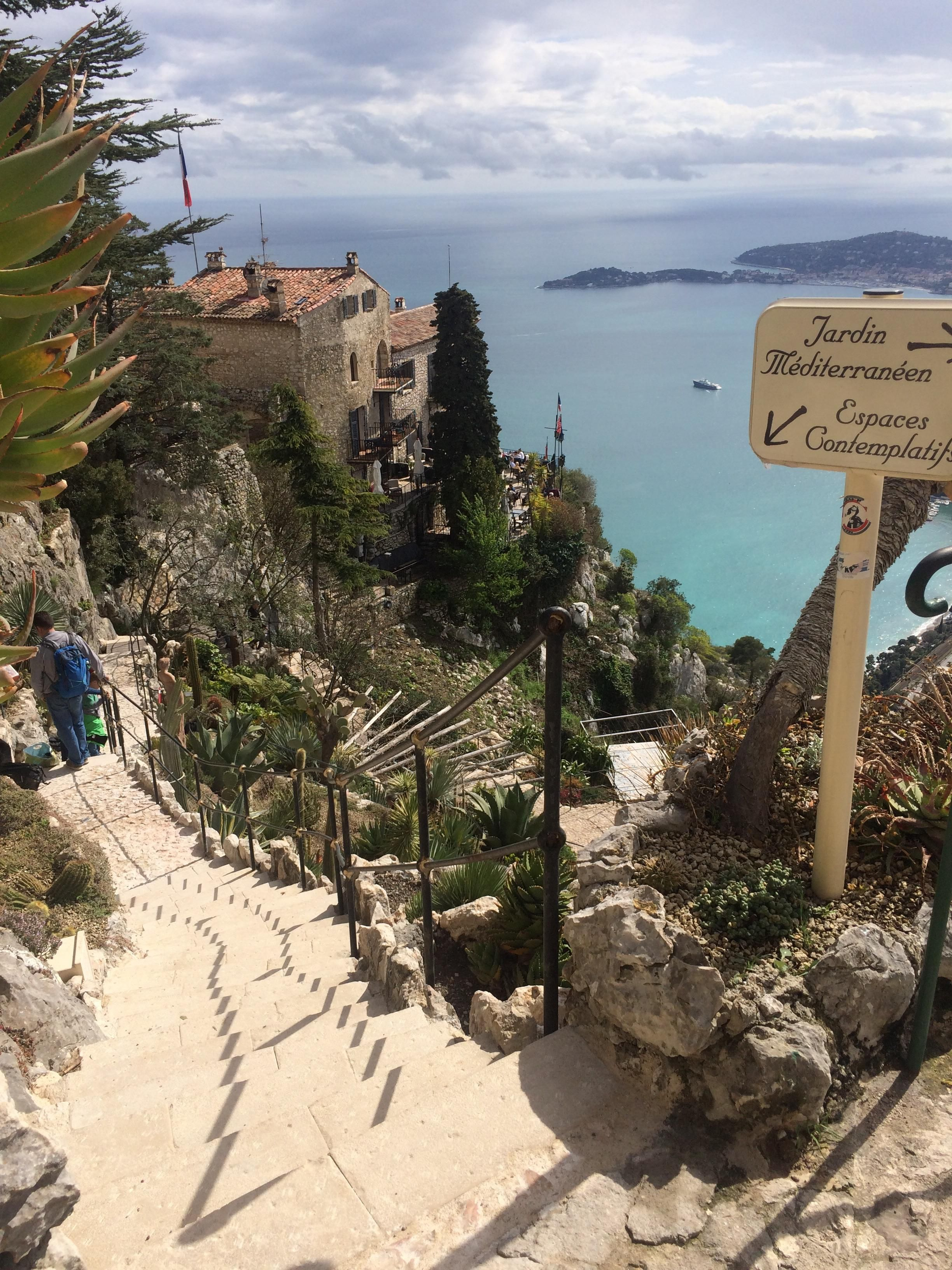 The Jardin exotique d\'Èze - beautiful garden with unusual cactus and ...