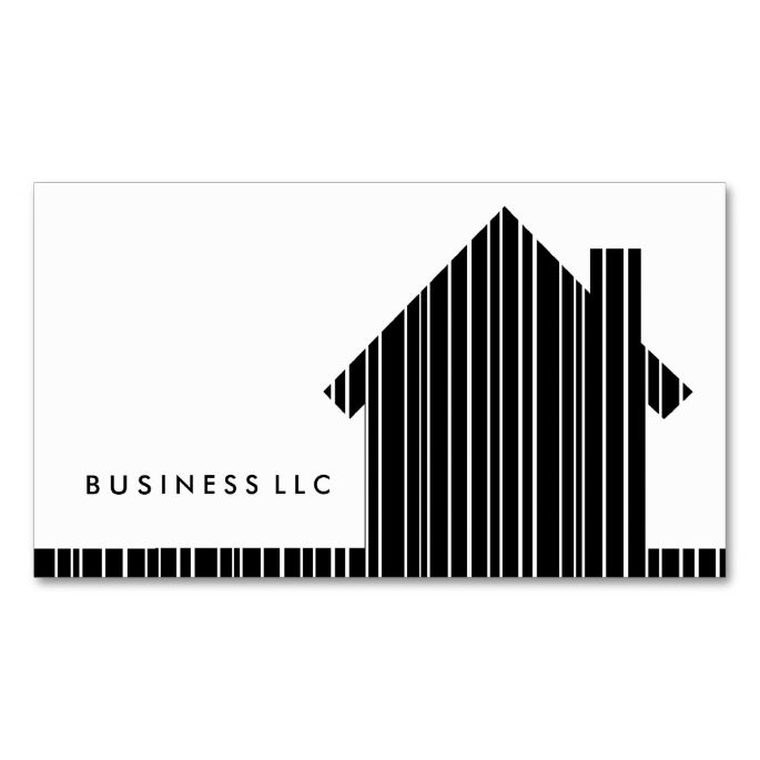 Barcode home business card business cards and business barcode home business card colourmoves
