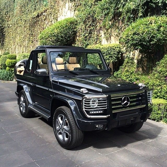Our Farewell To The G Class Cabriolet The Final Edition 200