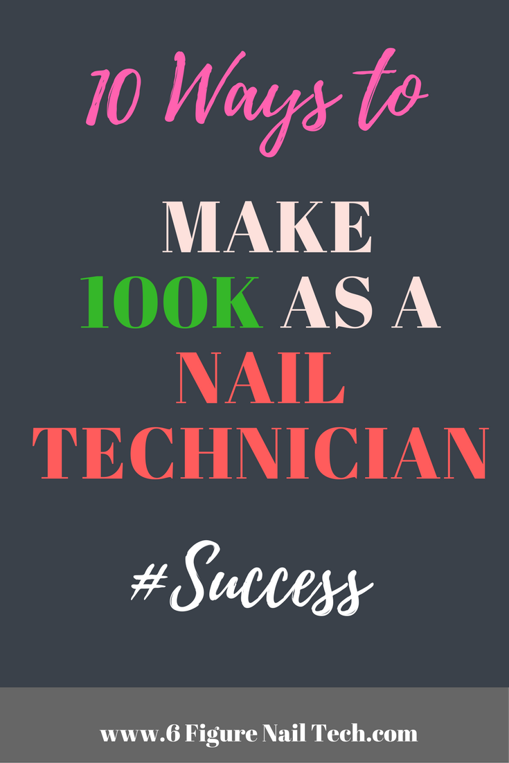HOT off the Press! Love it! Make more money as a Nail