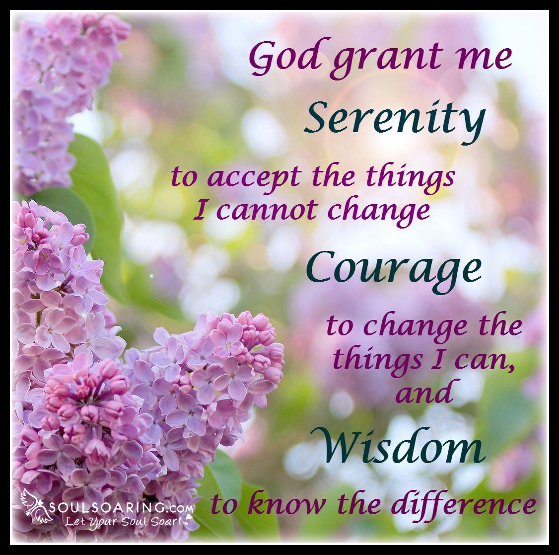 The Serenity Prayer Still Applies