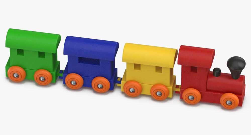 3d Toy Train Model Turbosquid 1375630 Toy Train 3d Toys Toys