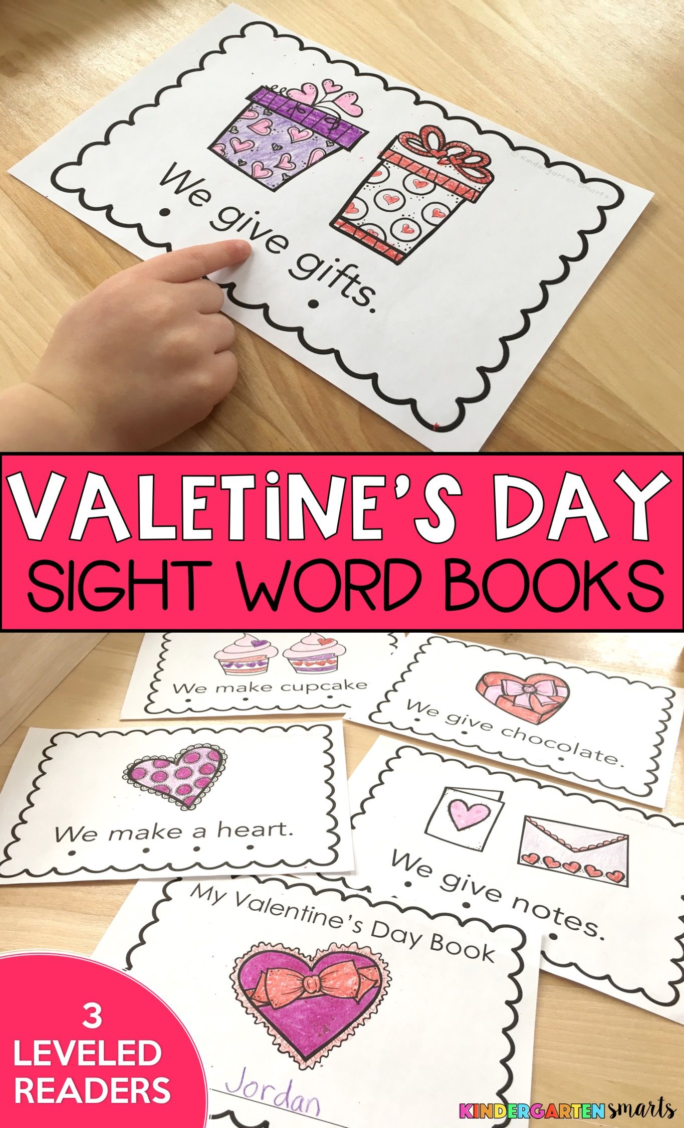 Valentine S Day Sight Word Book