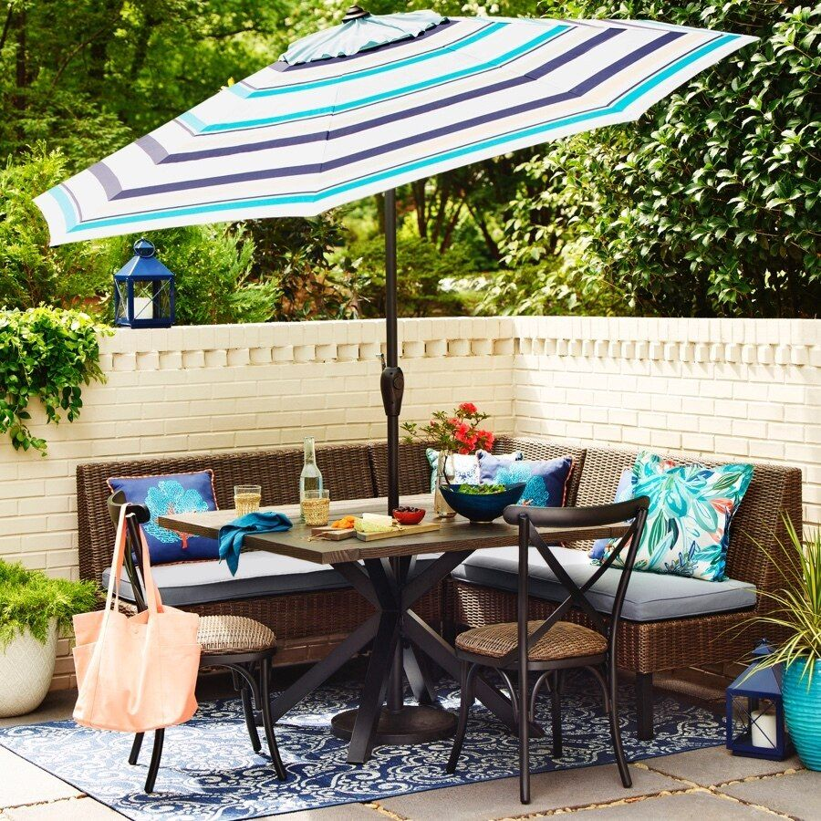 Explore Allen Roth Chesterbrook 6 Piece Patio Dining Set In The