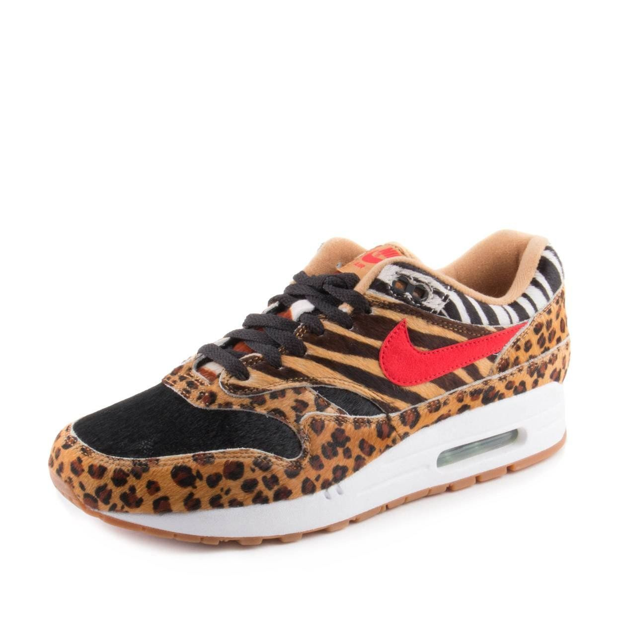 Golf Shoes     NIKE Mens Air Max 1 DLX Animal Pack Wheat RedBison Synthetic  Size 9.5 -- Learn more at the image web link. (This is an affiliate link). 5370ad45c