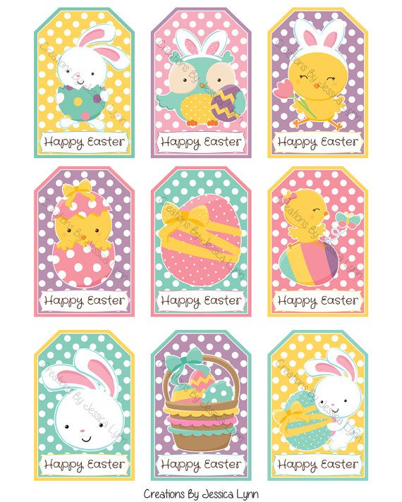 Printable easter gift tags by creationsbyjlynn on etsy creations printable easter gift tags by creationsbyjlynn on etsy negle