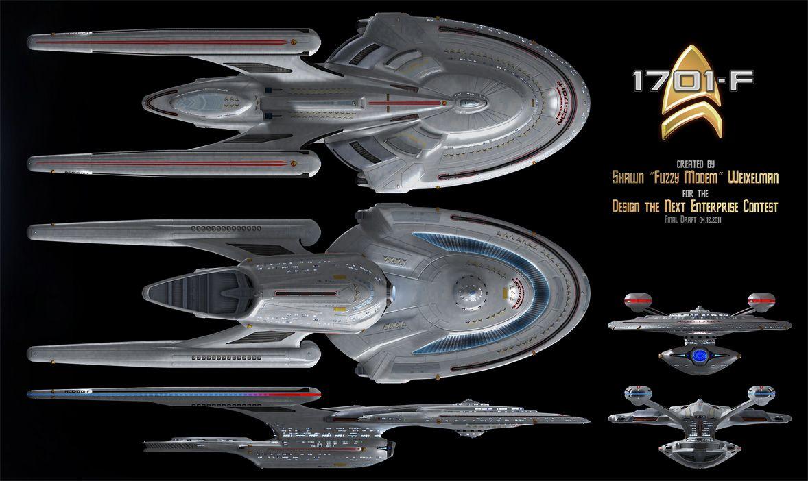Design the next enterprise contest entry for the for Wohnung star trek design