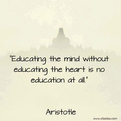 Educational Thoughts. I believe Mr. Poppen talked about this the ...