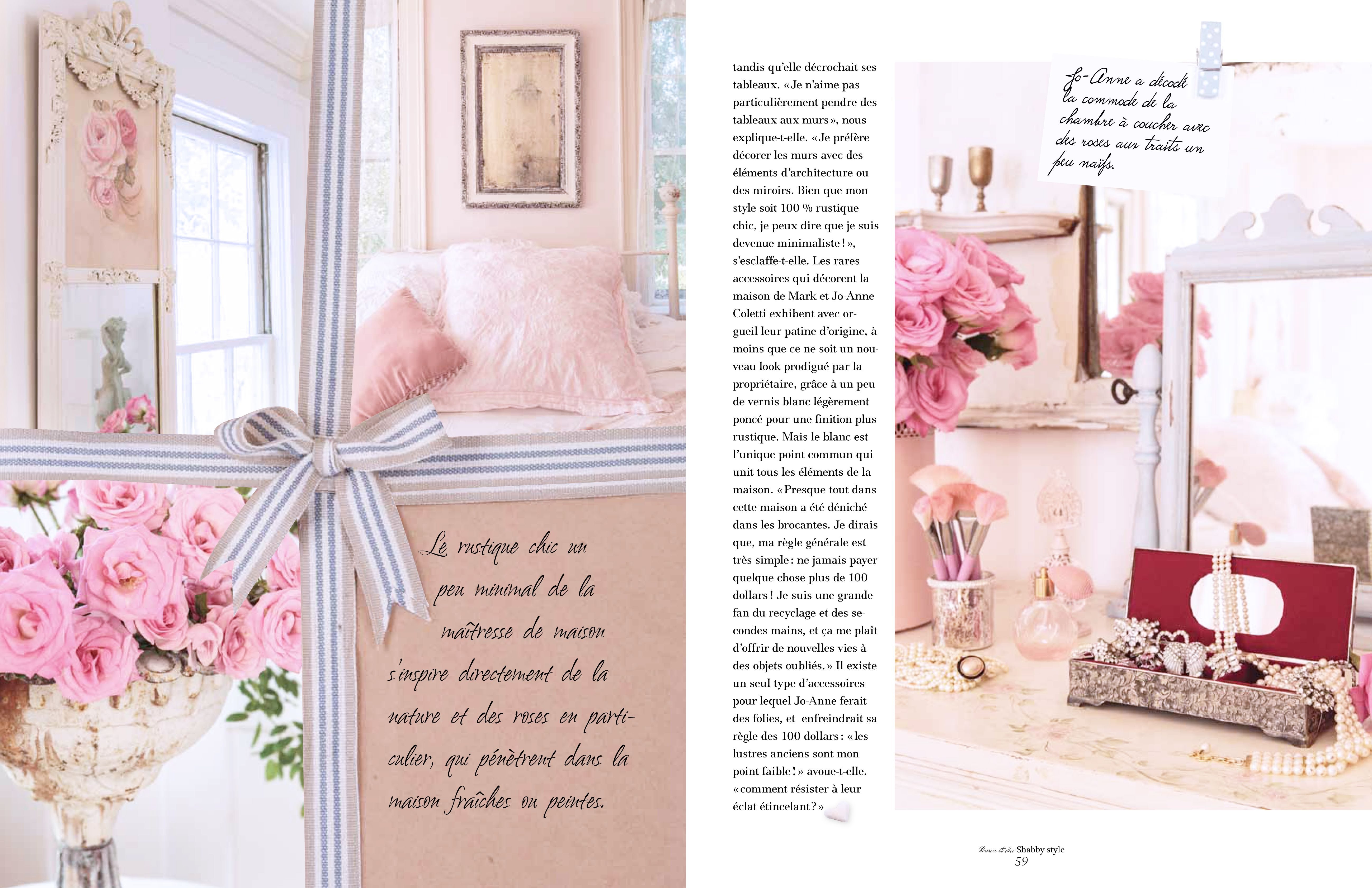 Here are the photos of my home in the european magazine for European homes and style magazine