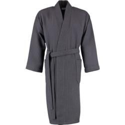 Möve Bademantel unisex Kimono Homewear graphit - 843 - S Möve
