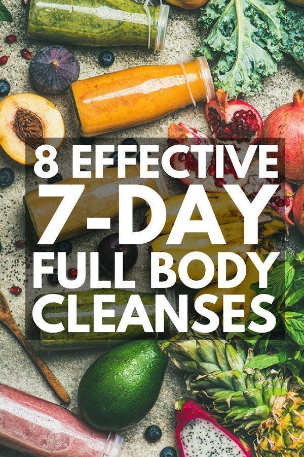 Detox 101: 7-Day Cleanse für Gewichtsverlust und einen flachen Bauch