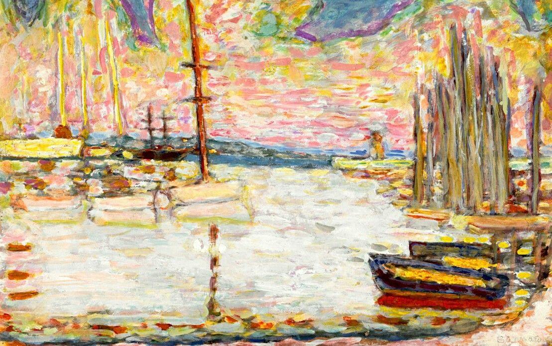 Pierre Bonnard  1867 - 1947  Port De Pêche