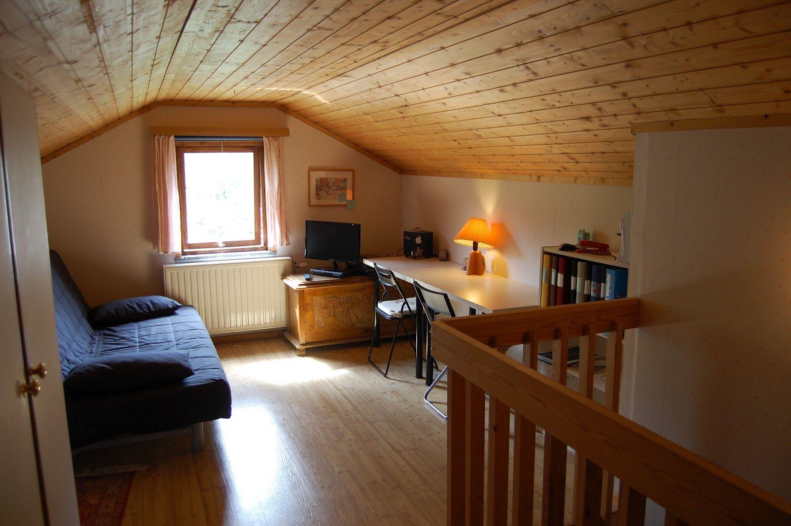 Small Cozy Finished Attic Attic Bedroom Kids Attic