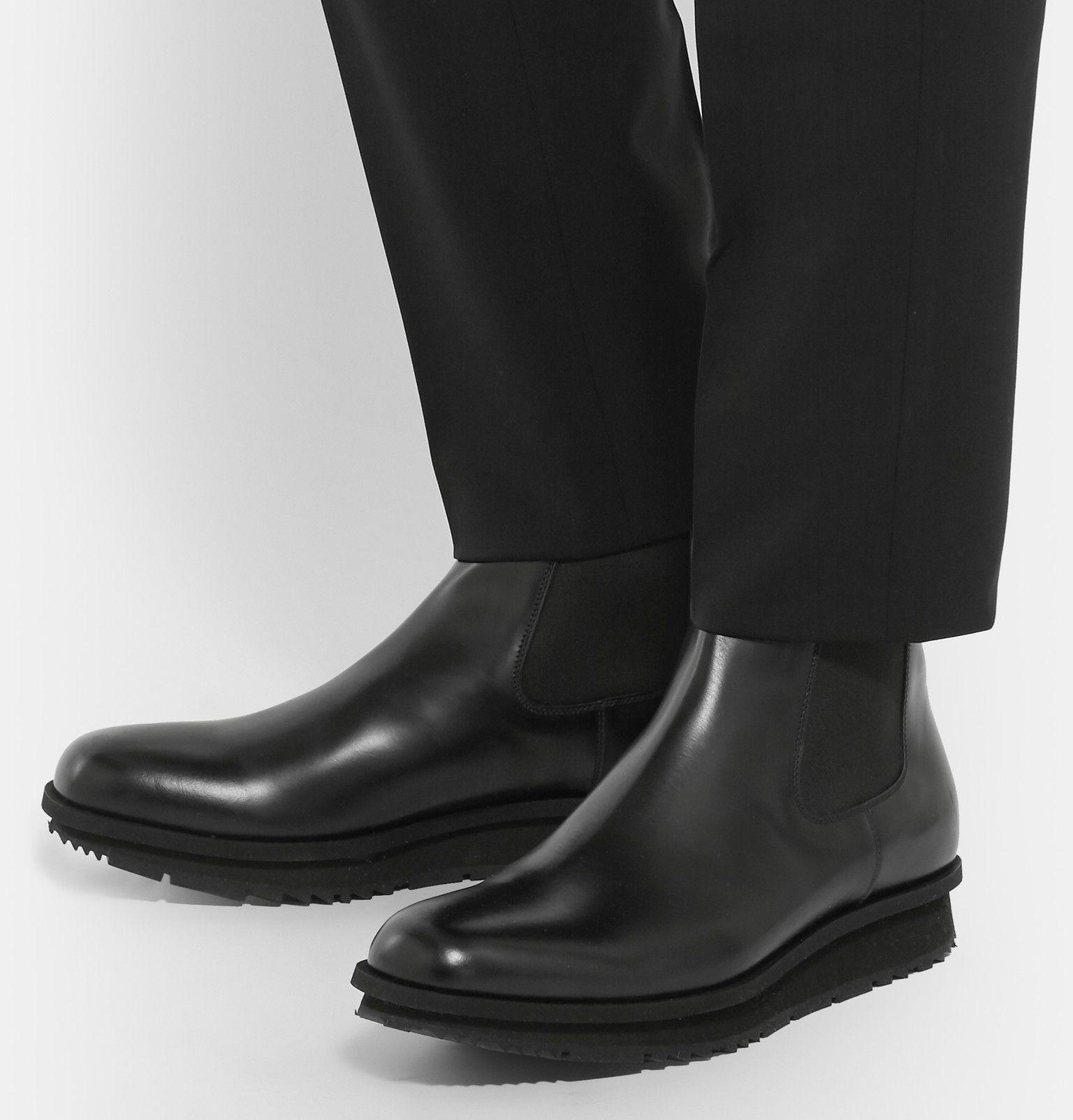 Prada Leather Western Boots BhM9EYYOf