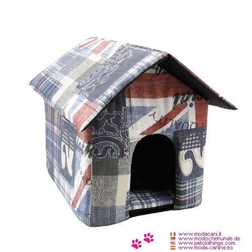 Cuccia fantasia inglese da interno per cani a forma di - Cuccia per cani interno ...