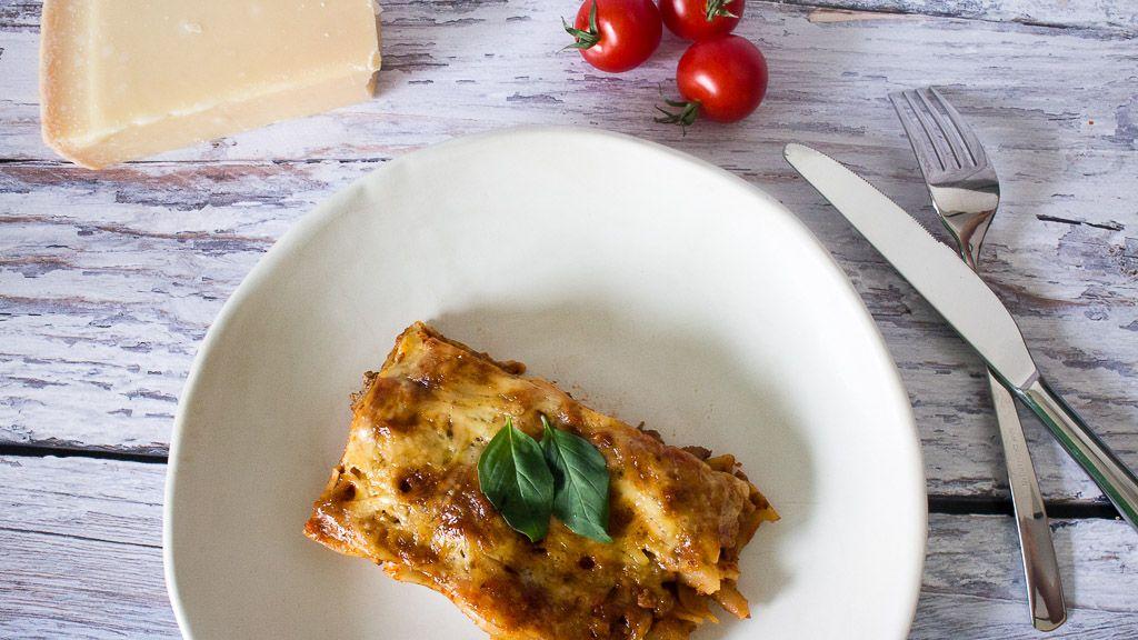schnelle lasagne ohne bechamelsauce rezept