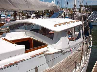 Building A Hard Dodger For Sailboat Google Search Boat