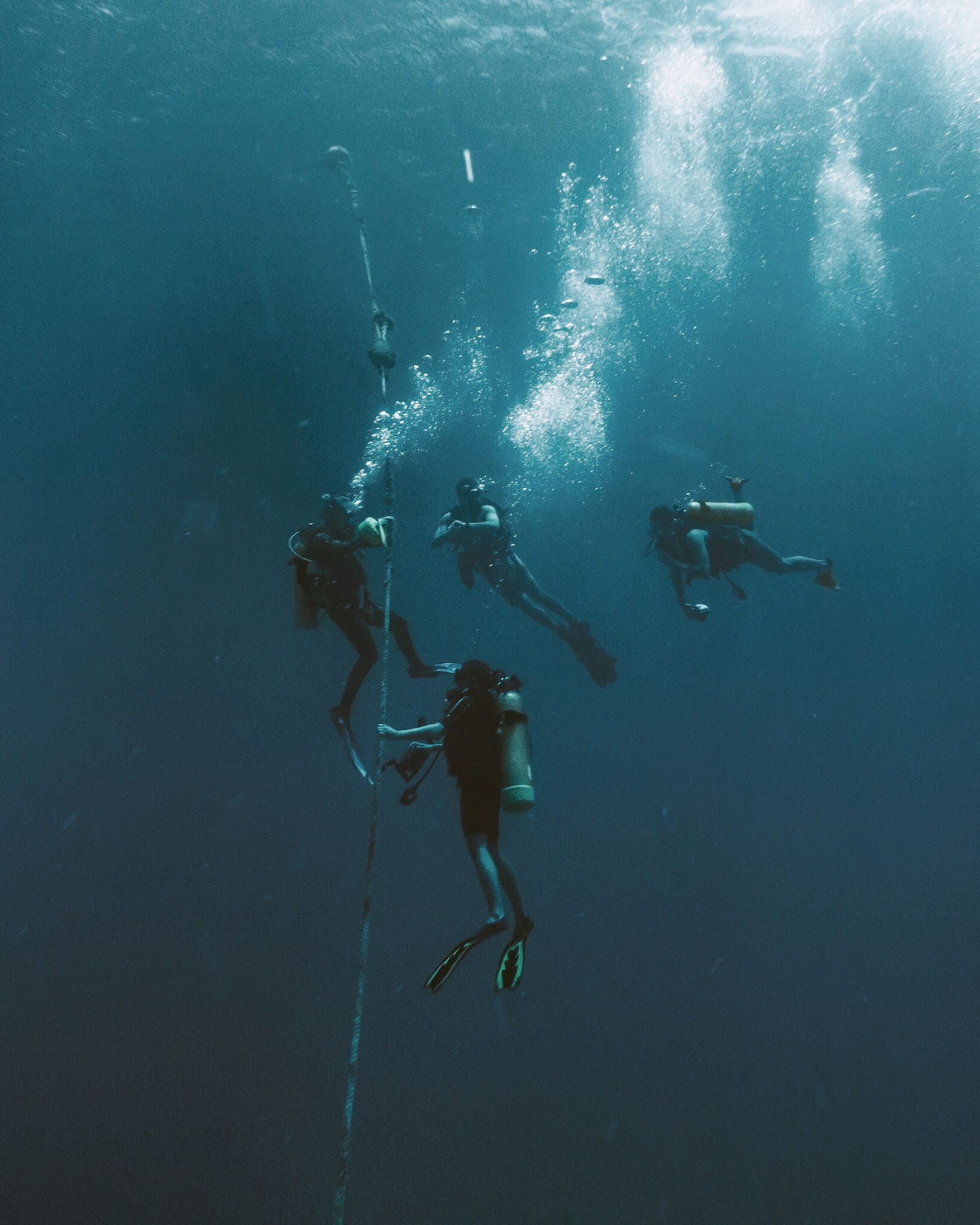 Diving In British Virgin Islands. Shot On Sony RX100V With
