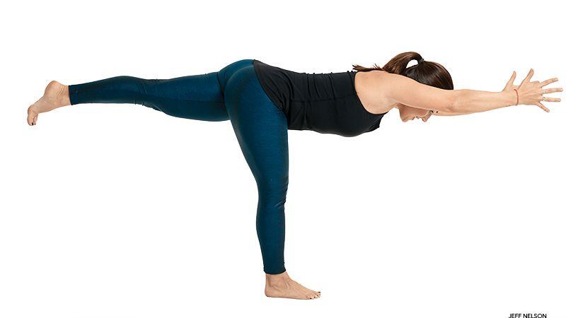 Warrior III Pose | Cool yoga poses, Yoga poses, Warrior pose