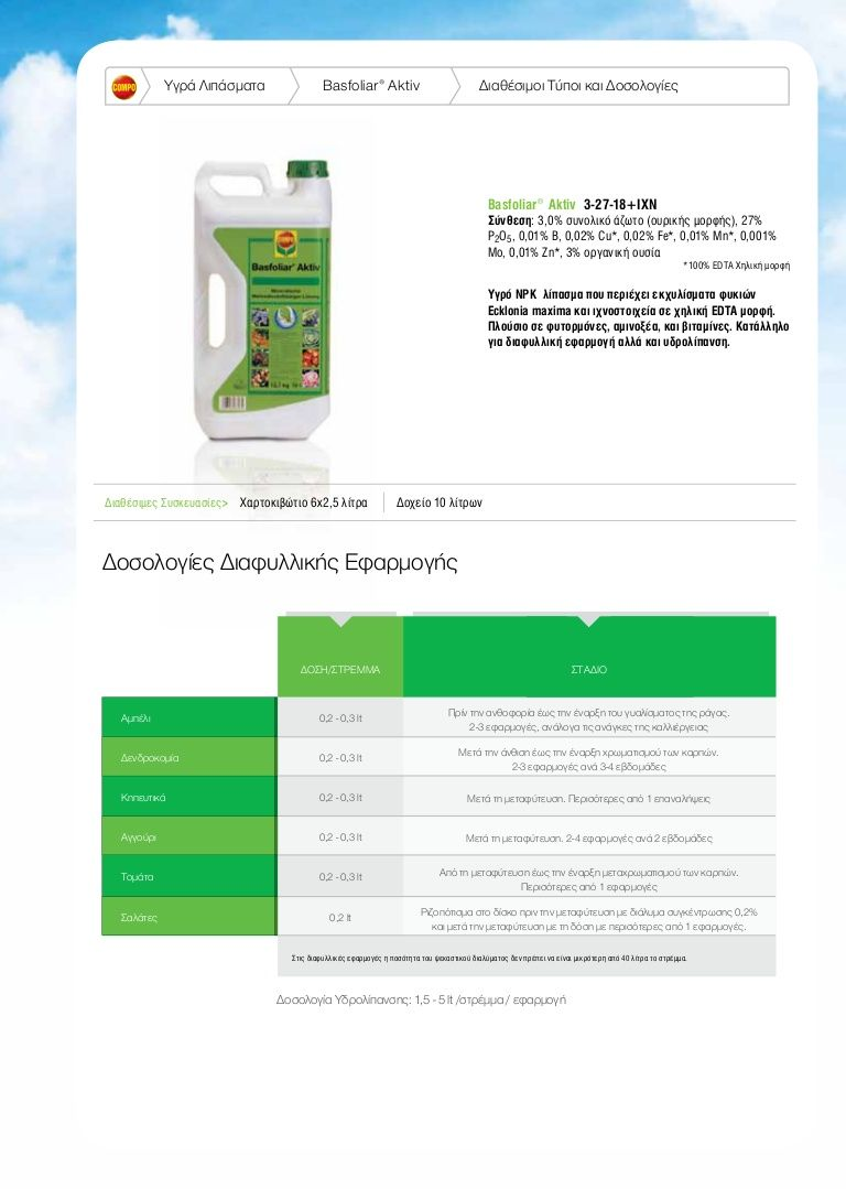 Photo of Basfoliar Aktiv