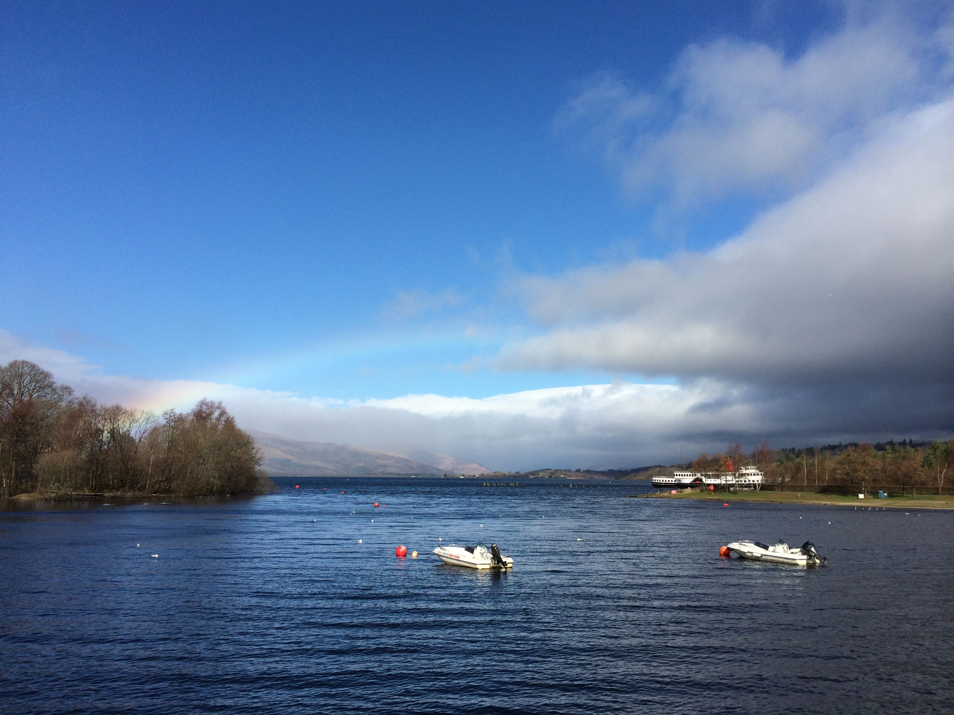 Taken at Loch Lomond on 16/3/14 by me using camera on iPhone 5s