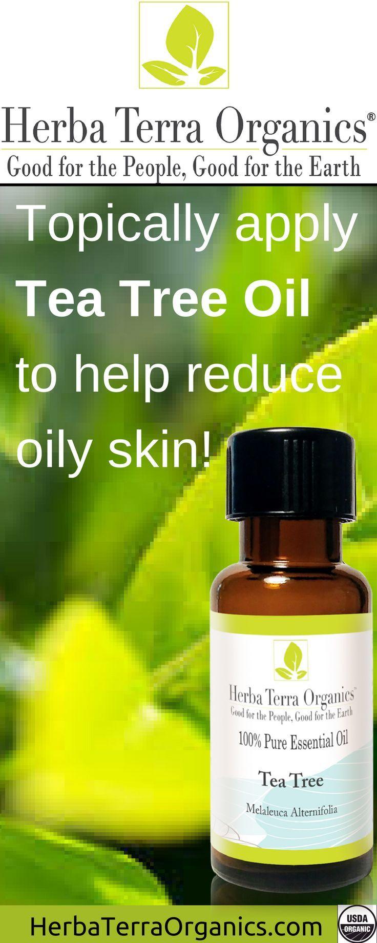 USDA Certified Organic AustralianTea Tree Essential Oil