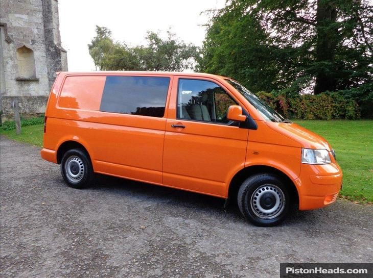 orange transporter t5 campervans pinterest t5. Black Bedroom Furniture Sets. Home Design Ideas