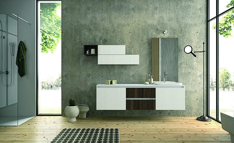 Mobili moderni per l arredo bagno presso ometto for Ometto arredamenti