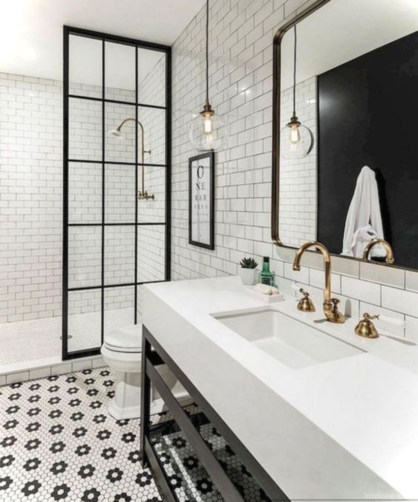 17 Beautiful And Modern Farmhouse Bathroom Design Ideas Matchness Com Bathroom Interior Bathroom Interior Design Bathroom Renovation Cost
