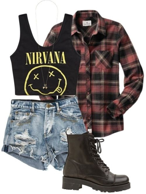 882a36f60eaa 25 Cute Grunge Fashion Outfit Ideas to Try This Season