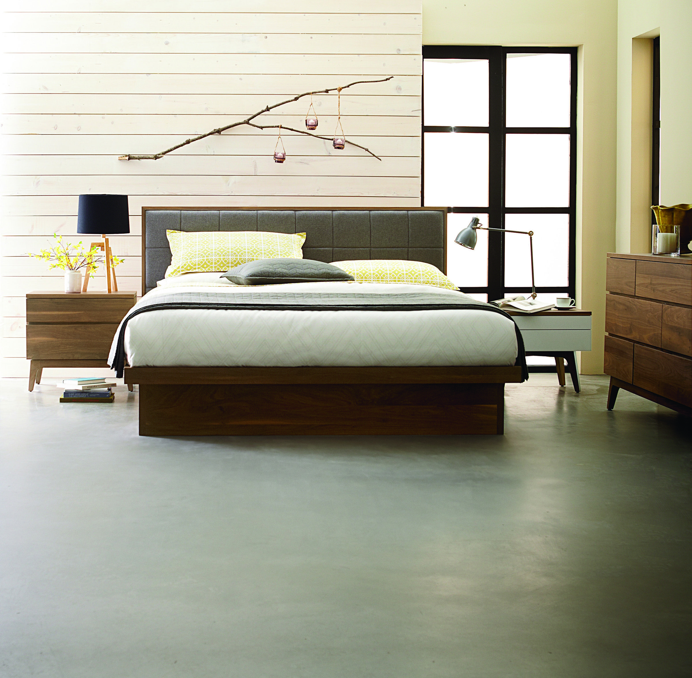 Solid Walnut Bedroom Furniture New Serra Bedroom By West Bros Furniture Available At Almira Fine