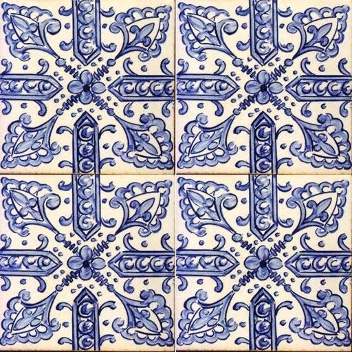 Antique tiles 16th century spanish omg when i was in for Spanish decorative tile