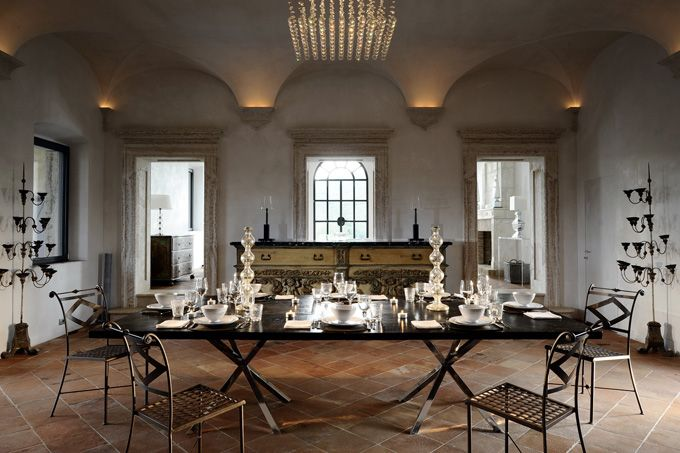 Travel The World Live In Other Cities Learn Cultures Italian Interior Design Tuscan Design Luxury Dining Room