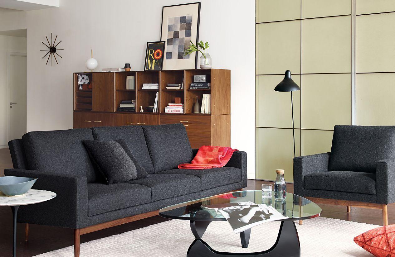 Raleigh armchair designed by jeffrey bernett and nicholas dodziuk