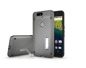 BEST Huawei Nexus 6P Case, Cocomii® [HEAVY DUTY] Net Case *NEW* [Ultra Radiator Armor] Premium Shockproof Kickstand Bumper Case - Full-body Rugged Hybrid Protective Cover Bumper Case for Huawei Nexus 6P • Unique, rugged design with style and the utmost protection • Raised edge around the front lip for face-down protection • Extreme protection from drops and scratches • Unique, heat radiation net design that keeps your device cool • 5% Off Coupon Code 6BXA7NOZ This Week Only!