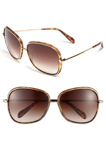 49851cbb280 Oliver Peoples 60mm Oversized Sunglasses available at  Nordstrom ...