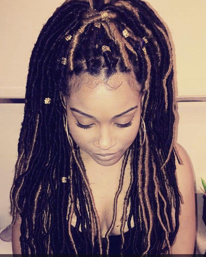 the best faux locs tutorial locs hair faux dreads hair styles