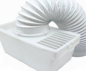 Lazer Electrics Hotpoint Creda Crosslee Tumble Dryer Indoor Condenser Vent Hose Kit With Hose Universal T Tumble Dryer Condenser Tumble Dryer Tumble Dryer Vent