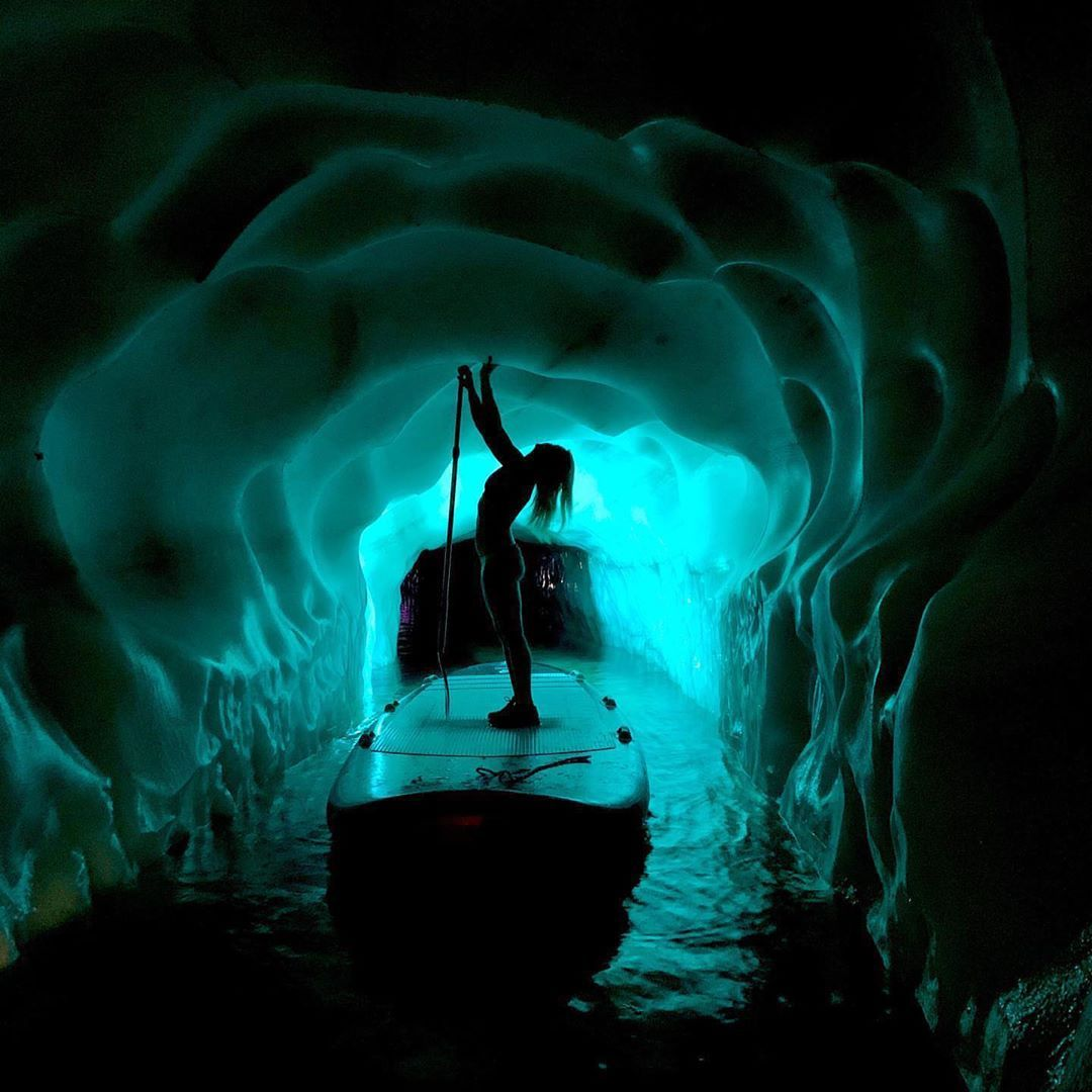 62m Under The Piste You Will Find An Ice Palace With A