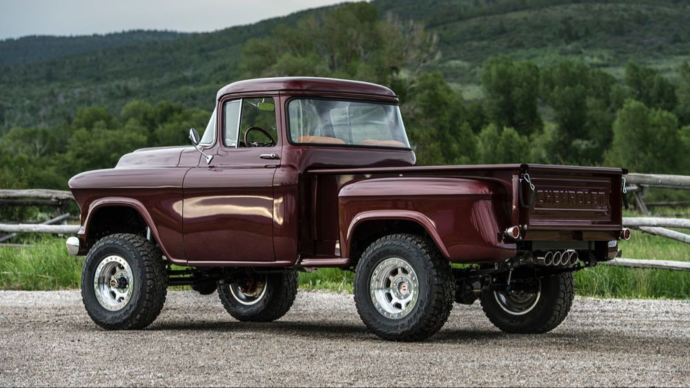 The Newest Old Truck Legacy Chevrolet Napco 4x4 Conversion First Drive Trucks Classic Trucks Offroad Trucks