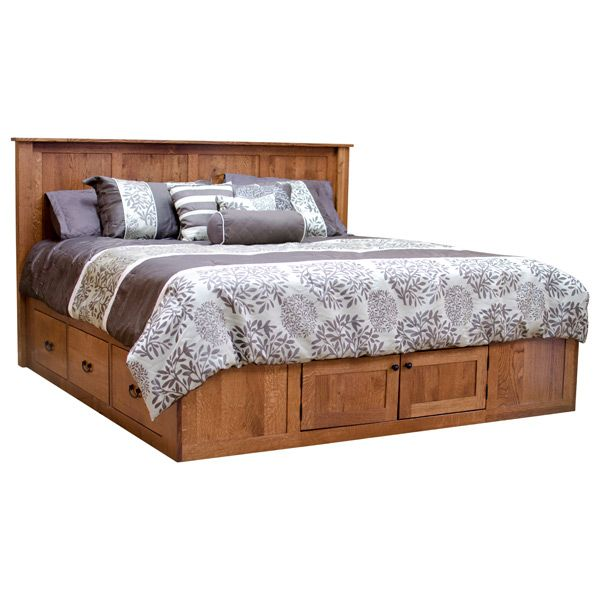 Platform Eastern King Bed w/ Drawers | Armario y Camas