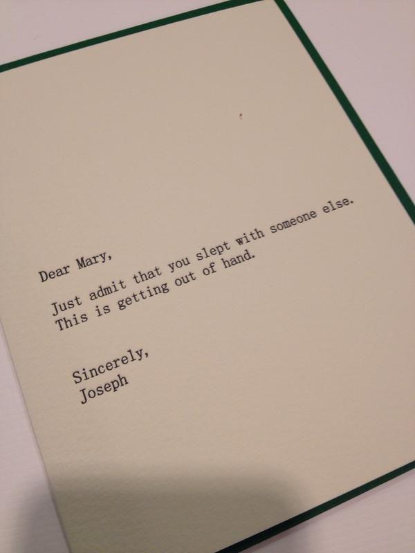 Best atheist Christmas card ever. | Pure Atheist Heart | Pinterest ...