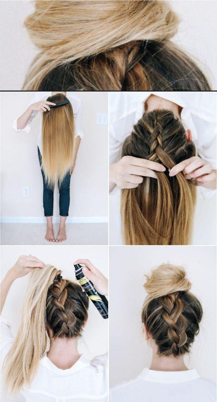 Anleitungen #einfache #Frisuren #für #Haare #lange #machen #selber